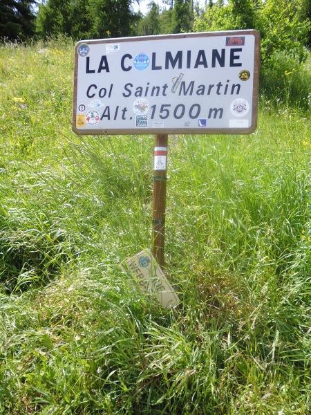 Col St. Martin sign