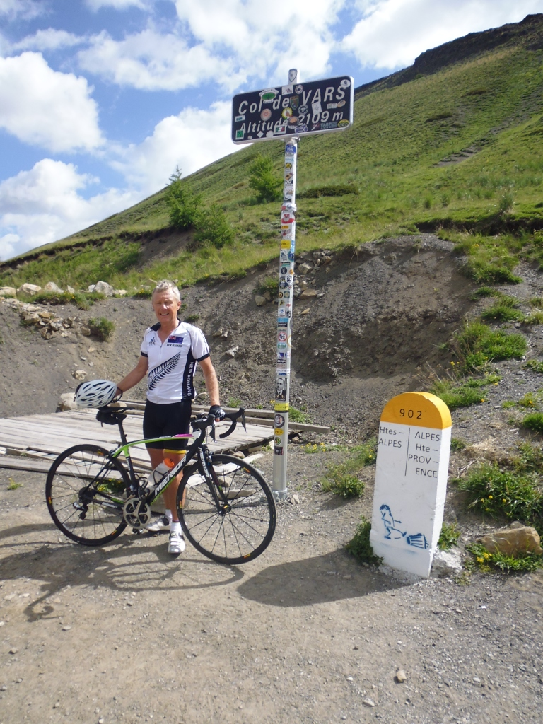 Col de Vars Summit 2109m